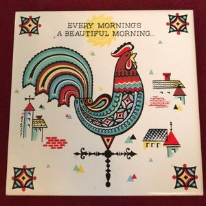 🇺🇸 Berggren Rooster Beautiful Morning tile